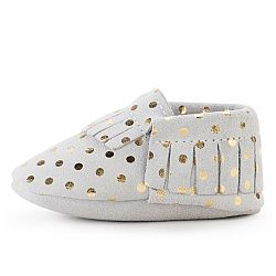 Champagne Moccasins - US 2