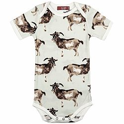 Goats One Piece 3-6 Months