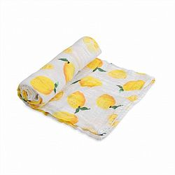 Lemon Cotton Muslin Swaddle