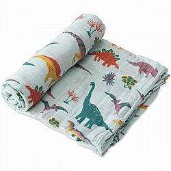 Jurassic World Cotton Muslin Swaddle