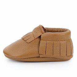 Classic Brown Moccasins - US 3