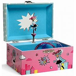 Girls Rule Musical Jewelry Box
